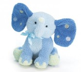Elephant -Blue Plush