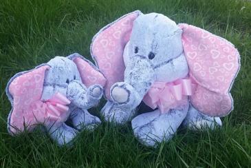 ELEPHANT LOVE Soft Plush