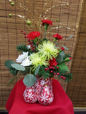 Christmas Flowers Hutchinson Ks Dons Custom Floral