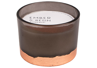 Ember & Resin 3-Wick Gilt Candle