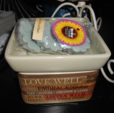 Embrace Life Warmer & Wax Tarts