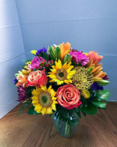 Embracing The Sun Birthday Bouquet in Lauderhill, Florida | A ROYAL BLOOM FLOWERS & GIFTS