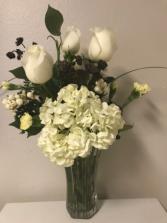 Emerald Almond Sympathy Flowers