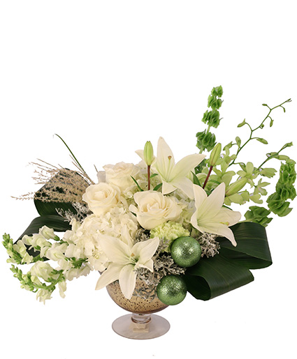 Emerald Enchantment Flower Arrangement