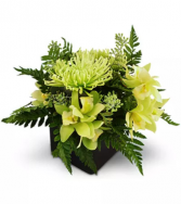 Emerald Jubilee All-around floral arrangement