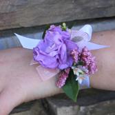 Emily Ribbon Wrist Corsage