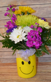 Emoji Jar Arrangement - Jar style will vary