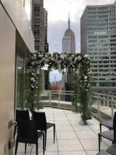 Empire State View Chupa chuppah