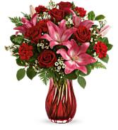 Enamored Elegance Bouquet Fresh Arrangement