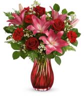 Enamored Elegance Vased Arrangement