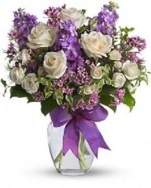 Enchanted Cottage Best Seller Vase Arrangement in Dunellen, NJ | PONTI'S PETALS