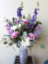 Enchanted Cottage Custom Fitzgerald Flowers Arrangement