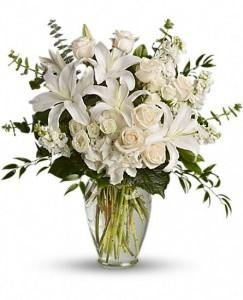 Enchanted Florist Dreams From the Heart Bouquet  Vase Arrangement