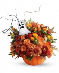 Enchanted Florist Spooky Suprise Bouquet Flowers Keepsake Container