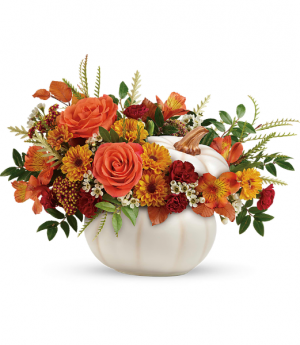 Enchanted Harvest  All-Around Floral Arrangement in Winnipeg, MB | KINGS FLORIST LTD