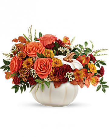 Enchanted Harvest Bouquet Fall Flowers