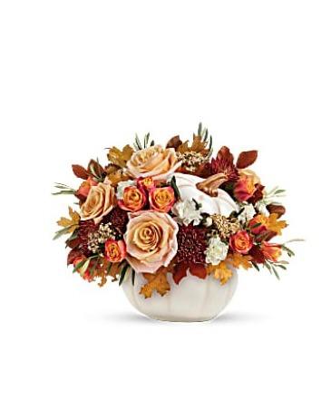 Enchanted Harvest bouquet   Keepsake arrangement