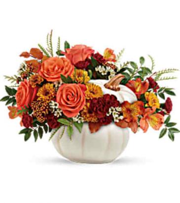 Enchanted Harvest Thanksgiving Centerpiece