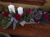 Enchanted Holiday Splendor centerpiece