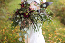 Enchanted Protea  Bridal bouquet