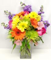 Enchanted Rainbow Floral Arrangement