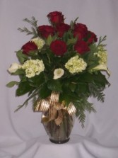 ENCHANTED SPLENDORS - RED ROSES Roses For You, Flowers For My Sweetheart  Roses,  Roses Arrangements