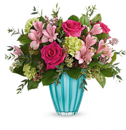 Enchanted Spring Bouquet  Vase