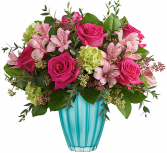 Enchanted Spring Bouquet Vase Arrangement