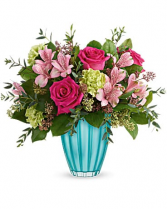 Enchanted Spring fresh flowers arr