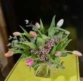 Enchanted Tulips Floral Arrangement