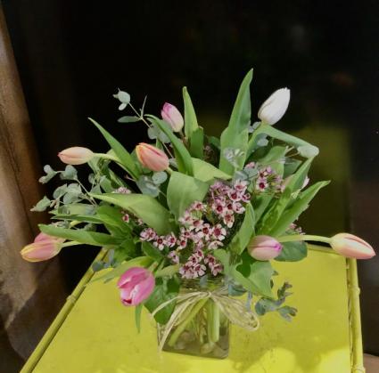 Enchanted Tulips Floral Arrangement