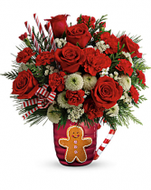 Enchanted Winter Sips Bouquet Christmas