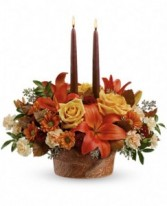 CENTERPIECE SPECIAL  Enchanted Wrapped In Autumn