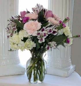 Enchanting Delight vase arrangement in North Adams, MA | MOUNT WILLIAMS GREENHOUSES INC