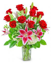 Enchanting Dozen Flower Arrangement