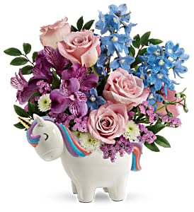 Enchanting Pastels Unicorn Bouquet New Baby / All Occasions
