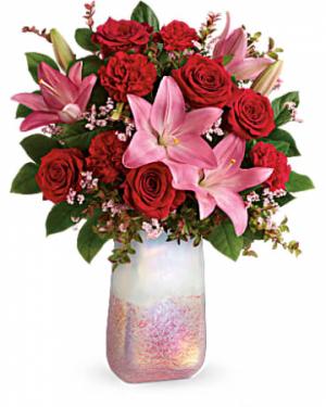 ENCHANTING ROSE Vase Arrangement in Longview, TX   ANN'S PETALS