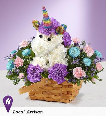 Enchanting Unicorn Exclusive Arrangement
