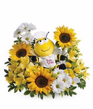 ENCHANTMENT BEE WELL BOUQUET  in Fort Lauderdale, FL | ENCHANTMENT FLORIST