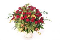 Encore Basket Roses