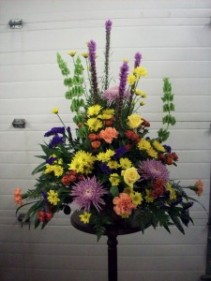 """Encouragement"" Mixed Fresh Flower Arrangement"
