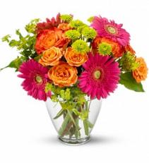 End of the Rainbow - 157 Vase arrangement