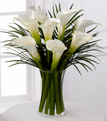 Endless Elegance Calla Lily Bouquet