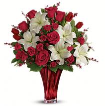 Endless Love Arrangement  Mixed Flower Arrangement