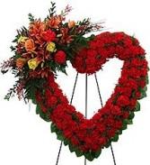 Endless Love Funeral Wreath
