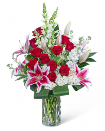 Endless Love Story Flower Arrangement