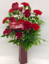 Endless Love with Chocolate Arrangement