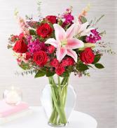 Endless Romance Lush Garden Blooms in Rich Romantic Hues