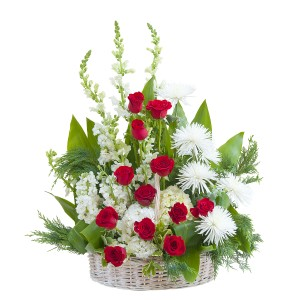 ENDURING STRENGTH BASKET in Moore, OK | A New Beginning Florist