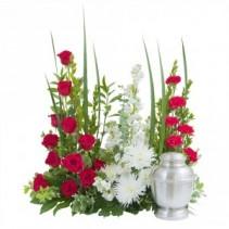 Enduring Strength Surround Fresh Flower Arrangement